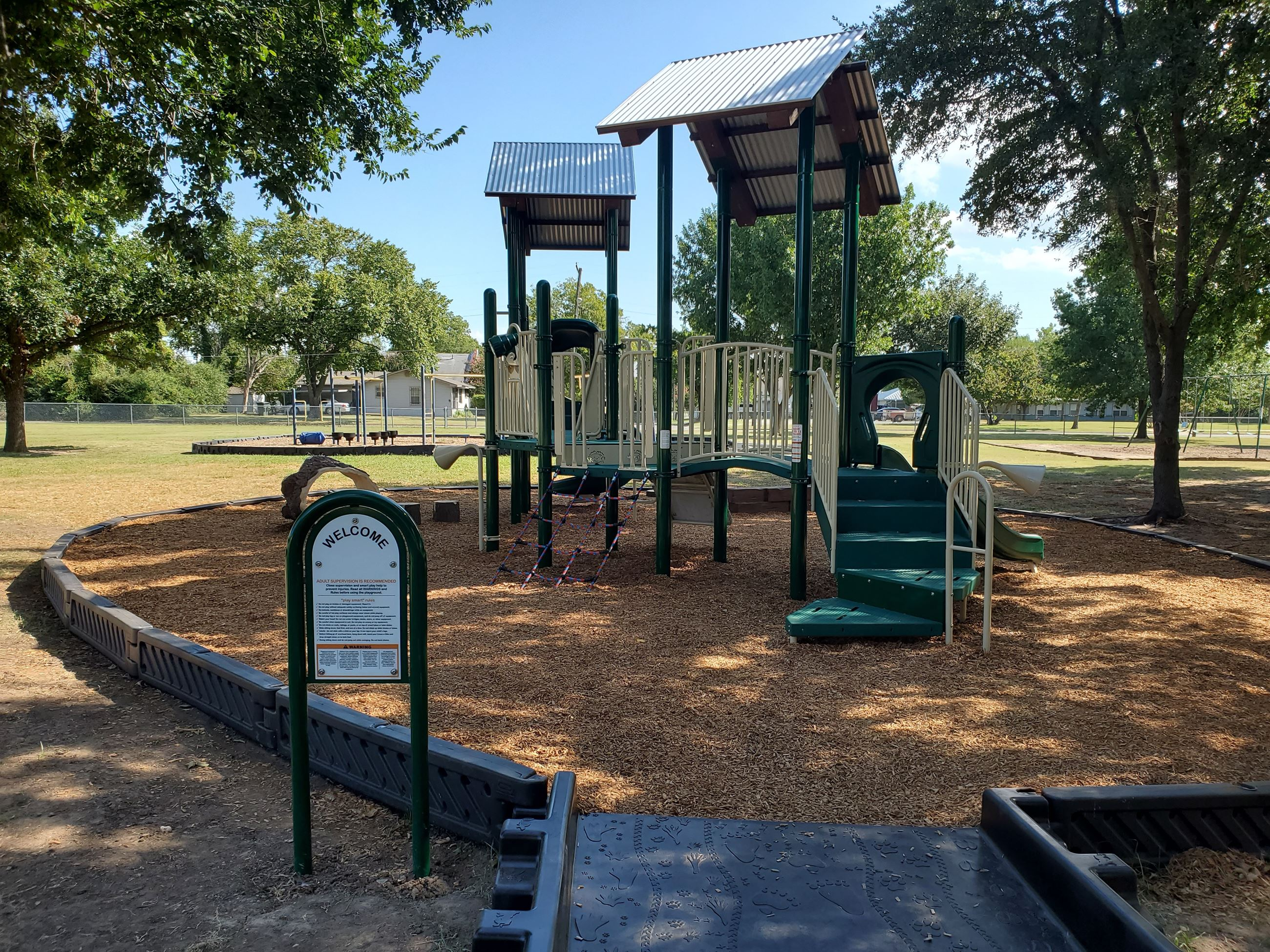 New Playscape at MLK Park