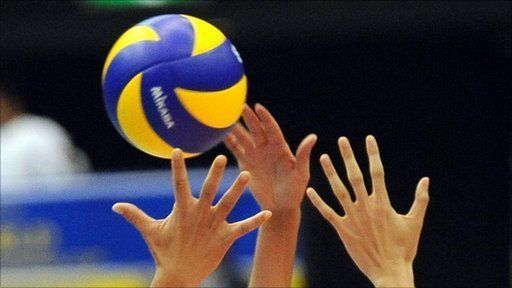 volleyball hands
